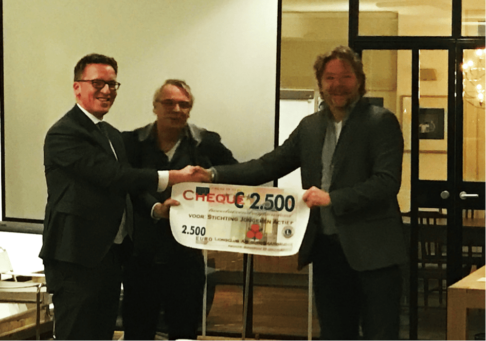 Lions Abcoude-Baambrugge steunt Stichting Jongeren Actief