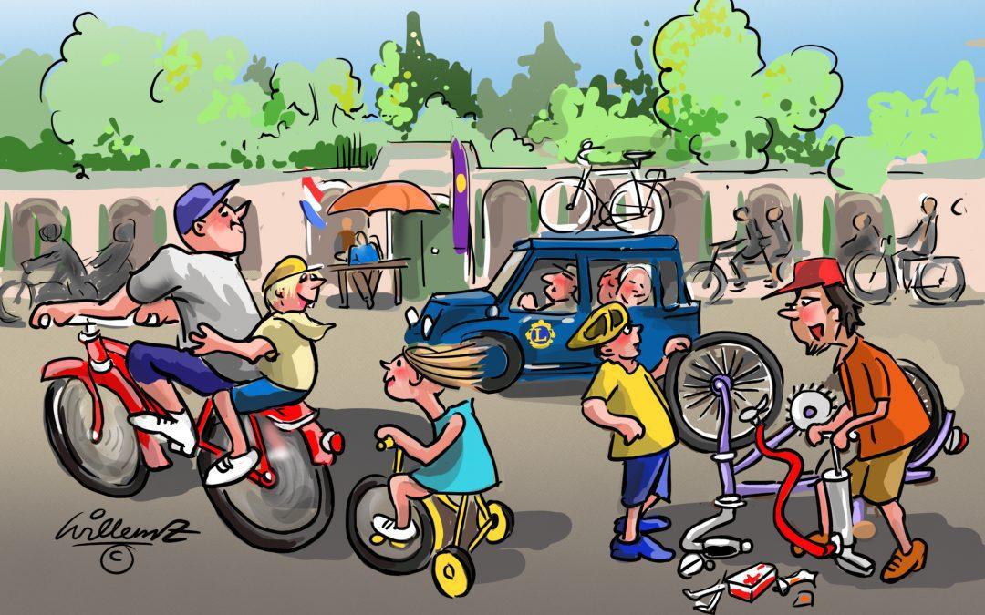 23 juni gaan we weer fietsen 'met en voor je club'.